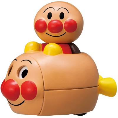 面包超人ANPANMAN回力猪仔惯性小车玩具3岁以上适用