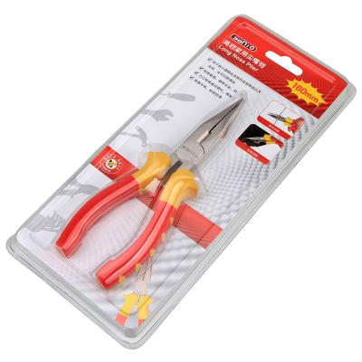 赛拓工具(SANTO) 家用钢丝钳 老虎钳 尖嘴钳 夹持工具 6寸尖嘴钳【1222】