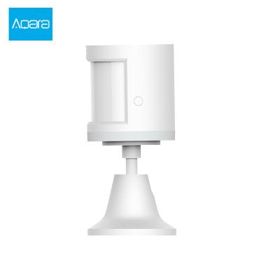 Aqara 人体传感器 360°旋转+170°探测角度 光照度+人体红外传感器 可联动灯具 绿米