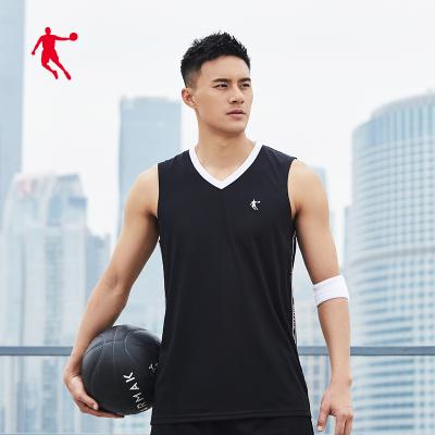喬丹官方旗艦籃球套裝男2020夏季新款透氣速干男士兩件套籃球套運動服男
