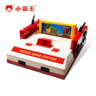 小霸王游戏机D99高清4K电视插卡老式红色双人无线手柄3DS怀旧红白机家用童年款fc连接无线版+500游戏卡