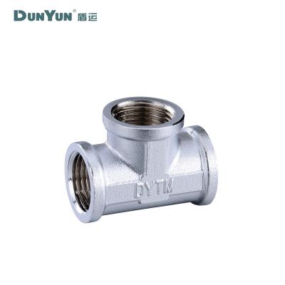 盾运(DUNYUN) 铜三通(水)T1/2F-1/2F-1/2F 整箱销售 252只/箱