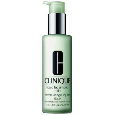 【液体皂液 深彻清洁】 CLINIQUE 倩碧 温和液体 洁面皂 200ml/瓶 温和洁净 适合中性及干性皮肤