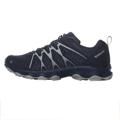 探路者(TOREAD)戶外運動男女款輕便透氣運動越野跑登山鞋KFFF81389/82389