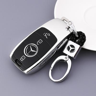 传枫 汽车钥匙包钥匙扣钥匙套奔驰E级E200 E300 E320 E180 E260 GLC260 GLC300