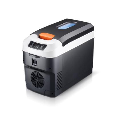 先科(SAST)10L聚氨酯單制冷 車家兩用12V專用車載冰箱家用迷你冷暖箱 單核制冷 非數顯 貨車不能用