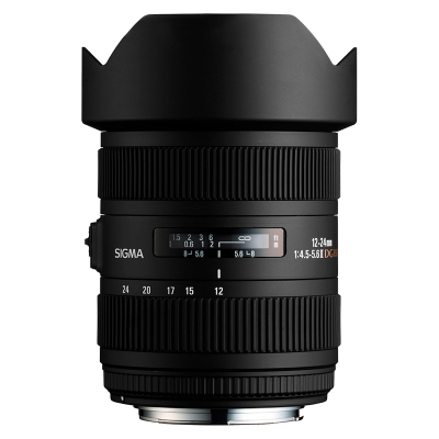 【二手95新】適馬/SIGMA 12-24mm f/4.5-5.6 EX DG HSM II 鏡頭