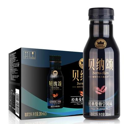 康师傅贝纳颂咖啡饮料 经典意式曼特宁抹茶拿铁风味15瓶/箱 混合口味