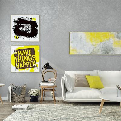 自粘墻紙現代簡約無紡布純色素色客廳背景墻壁紙 溫馨臥室寢室宿舍墻貼