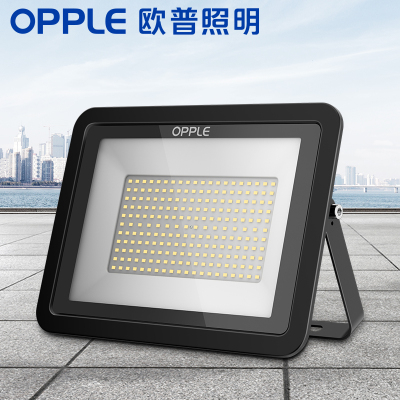 欧普照明led太阳能灯户外大功率超亮室内外路灯农村投光庭院灯