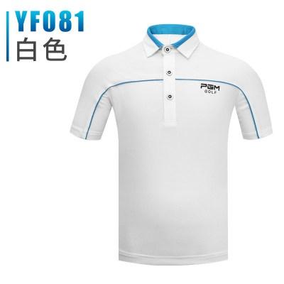 儿童高尔夫衣服 男童高尔夫运动球服套装 短袖T恤上衣裤子