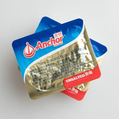 烘焙原料 新西兰进口Anchor淡味小黄油10g*10粒 动物黄油