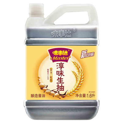 味事达淳味生抽酿造酱油1.6L