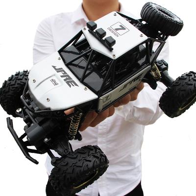 星域傳奇 合金車殼 遙控汽車攀爬越野車專業大腳車超大賽車充電動男孩四驅兒童玩具車男孩暑假