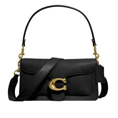 COACH 蔻馳女士單肩包專柜款女包酒神包Tabby系列 73995女斜挎包手提包