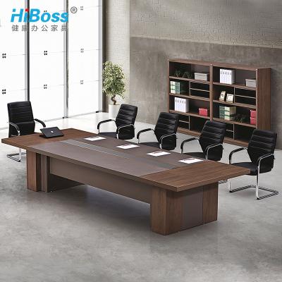 HiBoss会议桌办公桌大型会议室长桌长方形现开会桌子