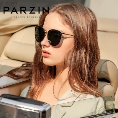 帕森太陽鏡女 輕盈復古炫彩膜潮司機墨鏡駕駛鏡偏光眼鏡 新品9868A