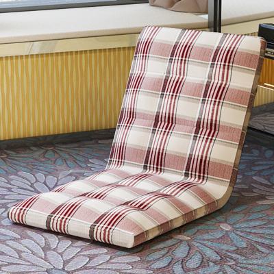 懶人沙發榻榻米單人日式可折疊飄窗無腿閃電客坐墊椅子宿舍床上靠背座椅