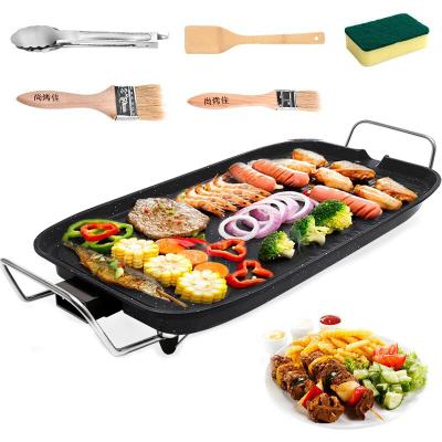 尚烤佳电烤盘家用无烟电烤炉烧烤炉烧烤架烤肉机电烤盘韩式大号电烤炉煎肉盘