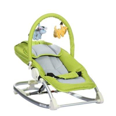CH Baby晨辉婴宝铝合金可折叠多功能婴儿摇椅宝宝摇椅A604A 绿色