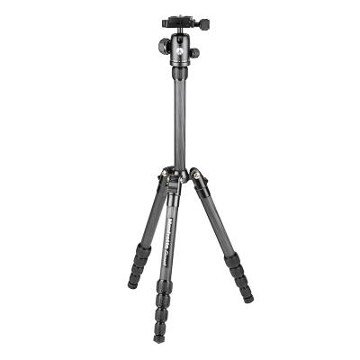 曼富圖(MANFROTTO) MKELES5CF-BH便攜單反微單相機旅行攝影支架碳纖維三腳架云臺