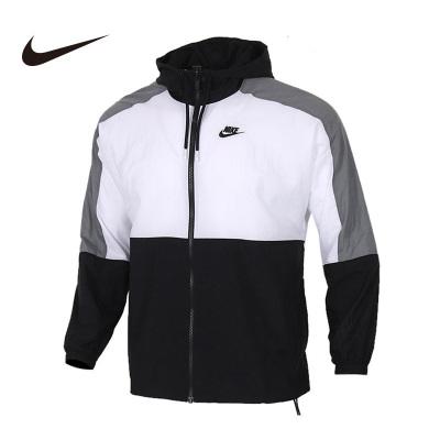 Nike耐克2020新款男子運動休閑拼色連帽夾克外套 CJ4561-010