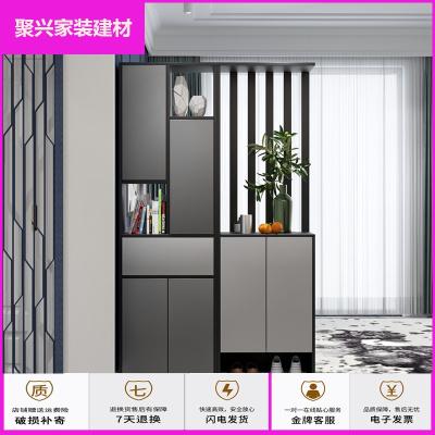 家具放心購鞋柜簡約屏風柜多功能隔斷柜客廳玄關柜現代廳儲物間廳柜簡約新款