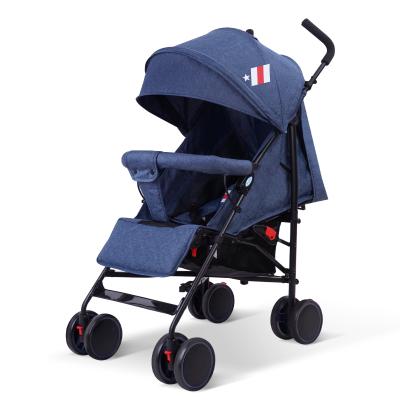 呵寶(HOPE) 嬰兒推車超輕便攜可坐可半躺平躺傘車兒童手推車折疊寶寶車小伯爵 5.6KG