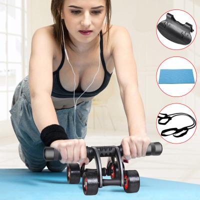 闪电客健腹轮男锻炼腹肌家用初学者卷腹滚轮收腹女健身轮腹肌轮