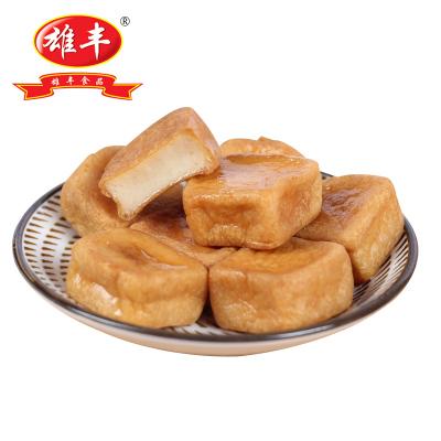 雄豐火鍋丸子 爆汁魚豆腐500g麻辣燙關東煮配菜食品冷凍美食燒烤食材