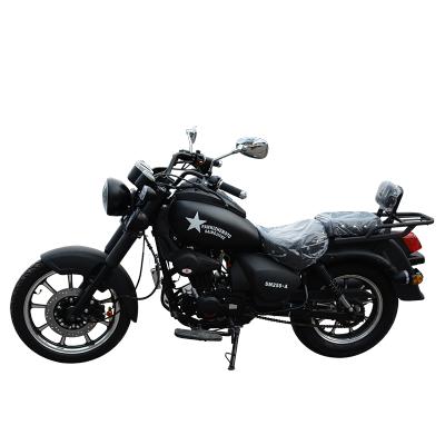 賽摩全新可上牌國四電噴版單缸自然油冷摩托車哈雷太子款摩托車叛逆者250cc油冷雙座巡航摩托車拉風街車升級款
