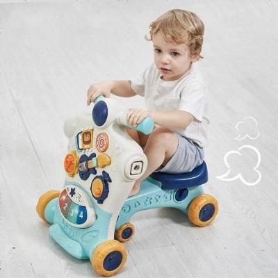 babycare寶寶學步車 多功能防側翻 男寶寶女孩嬰兒學走路助步手推車