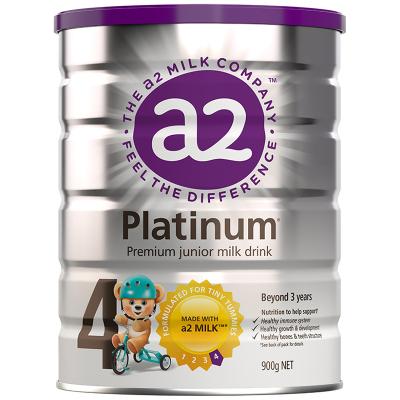 澳洲a2 Platinum 白金版 較大幼兒配方奶粉 4段 (3歲以上)900g 新西蘭原裝進口