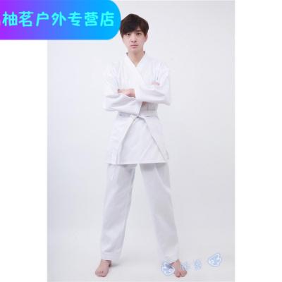 松濤會空手道服兒童成人男女訓練服定制斜紋空手道服裝可印字