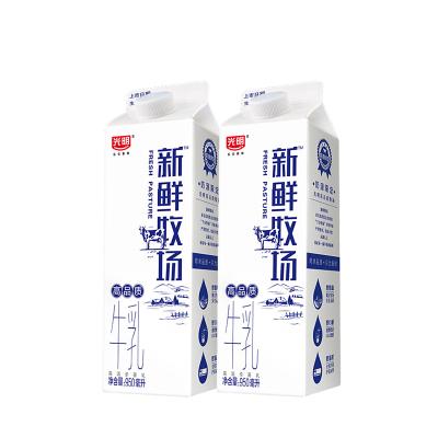 光明 新鮮牧場 高品質牛乳950ml *2(共2瓶)好奶源 好牛奶 苛求品質只為新鮮
