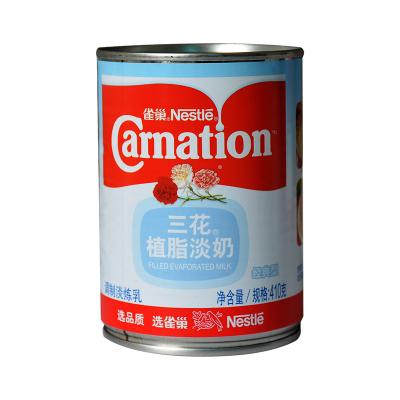 雀巢三花植脂淡奶 奶茶咖啡伴侶 淡煉乳 原裝 410g