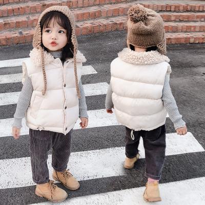 【品牌特賣】秋冬新款兒童羽絨棉馬甲加厚男女童面包背心中小童保暖坎肩潮外套 邁詩蒙(Mai Shi Meng)