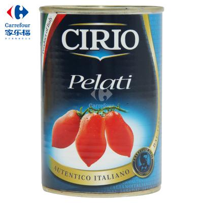 【家乐福】茄意欧牌去皮番茄罐头400克