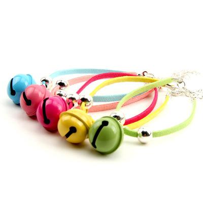 糖果色大型鈴鐺 吉娃娃小鹿犬約夏克小狗狗貓咪鈴鐺項圈寵物項鏈一只,需要什么顏色請備注