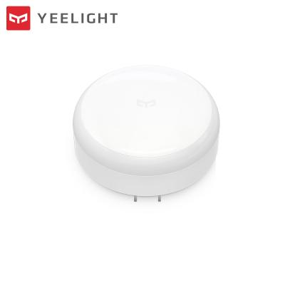 Yeelight夜燈感應夜燈智能燈插電版人體感應嬰兒喂奶燈起夜燈智能照明燈臥室客廳溫馨即插即用燈具燈飾創意小夜燈
