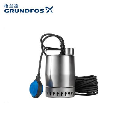 格兰富(GRUNDFOS)进口潜水排污泵Unilift KP 150 -A地下室积水排水水池雨水涝排水