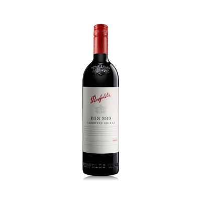 【商务宴请头牌】奔富(Penfolds ) BIN389赤霞珠设拉子干红葡萄酒 750ml 红酒 澳大利亚进口