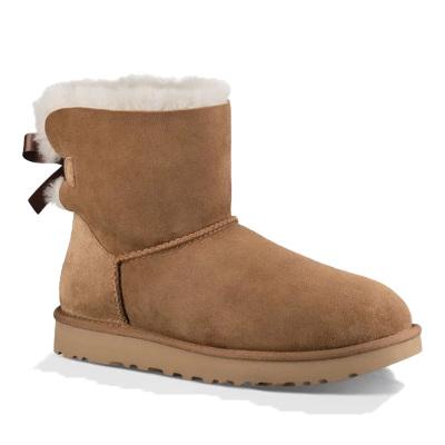 UGG秋冬新品 Mini Bailey Bow ll 迷你贝莉蝴蝶结2.0低筒保暖雪地靴1016501