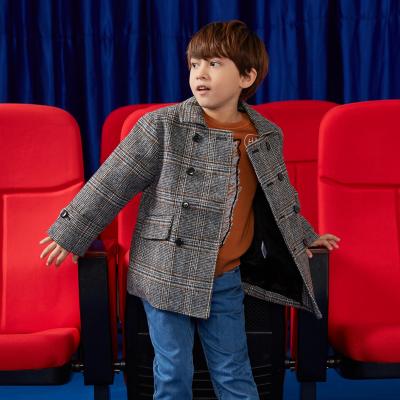 【1件3折价:162】美特斯邦威童装moomoo男童外套冬季韩版加绒中大儿童呢大衣