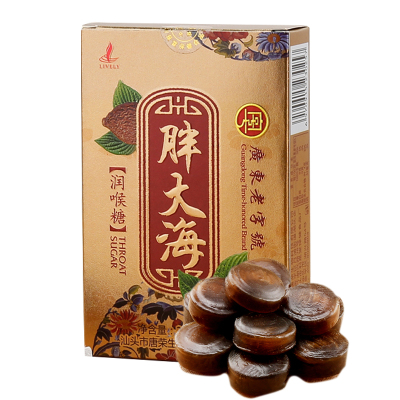 廣濟橋胖大海潤喉糖32克薄荷糖清涼片