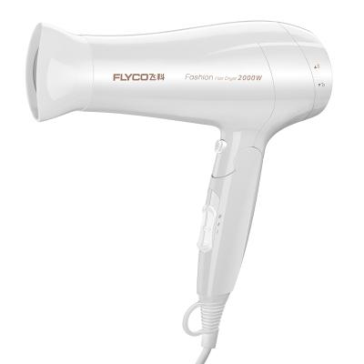 飛科(FLYCO)電吹風FH6232 六檔調節 快速干發 健康柔風護發 吹風機整機輕化設計 2000瓦功率