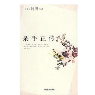 殺手正傳9787500226932中國盲文出版社