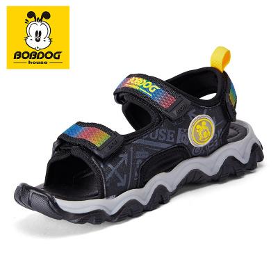巴布豆BOBDOG HOUSE童鞋兒童涼鞋2020夏季新款時尚童鞋男女童軟底韓版沙灘鞋