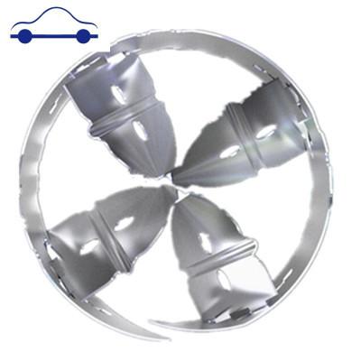 汽車渦輪增壓器改裝通用型自吸改渦輪進氣增壓動力節油器省油神器 舒適主義 版54-59MM