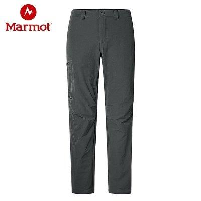 Marmot/土撥鼠2020運動戶外防風防潑水透氣男款M3軟殼褲